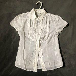 Banana Republic cotton blouse